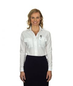 Van Heusen Ladies Aviator Shirt - Long Sleeves