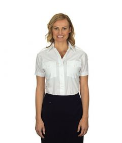 Van Heusen Ladies Aviator Shirt - Short Sleeves