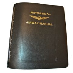Jeppesen Bonded Leather 7 Ring Binder