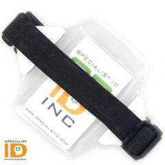 Vertical Armband ID Holder W/ Strap