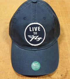 Live to Fly Baseball Hat