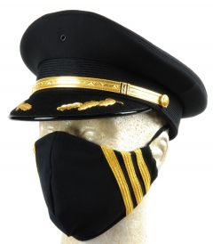 Black Pilot Rank Mask