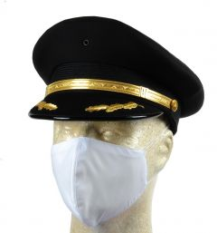 White Cloth Mask ( 5 Pack )