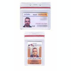 ID Holder - Plastic Ziplock