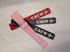 Leather Crew Bag Tag