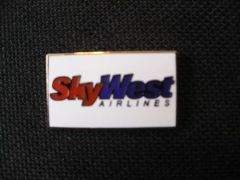 SkyWest Logo Pin