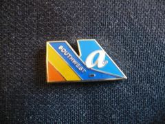 Southwest/AirTran Merger Logo Pin