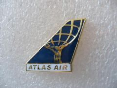 Atlas Air Logo Pin