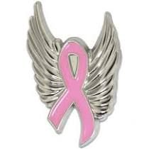 Breast Cancer Wings PIns