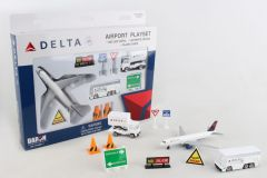 Delta Air Lines 12 Piece Playset