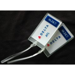 Rubber Crew Tags - Delta Airlines