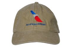 American Airline Unstructured Pigment Dyed Cap