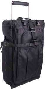 LuggageWorks Stealth 26'' Rolling Bag