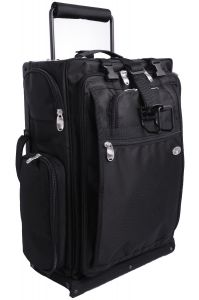 "Luggageworks Stealth Air 22"" Pilot Rolling Bag"