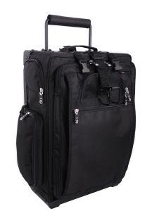"LuggageWorks Executive Aviator 22"" Pilot Rolling Bag"