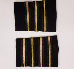 Crew Outfitters Velcro Epaulets - Captain
