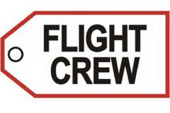 Bag Tag - Flight Crew, sayings, and characters
