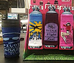 Freakers - Aviation themed cool bottle covers