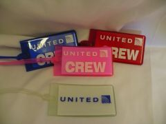 Rubber Crew Tags - United