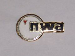 Northwest Airlines Logo Pin