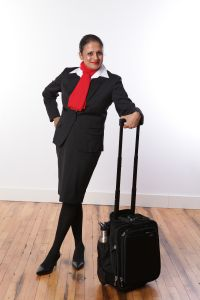 Flight Attendant Female Jacket - Black or Charcoal