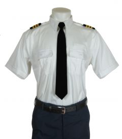 Crew Outfitters Platinum Pilot Shirt ( stretch fabric )