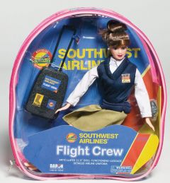 Flight Attendant Doll