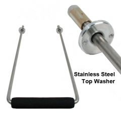 LuggageWorks Stealth Stainless Steel Handle Assembly