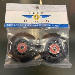 Crew Outfitters Luggage Roller Blade Wheels