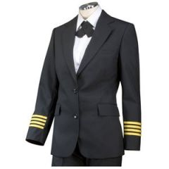 Crew Outfitters Single Breast Female Flex Fit Pilot Blazer