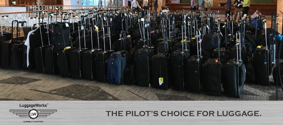 780aec390 LuggageWorks was founded in 1989 - the goal is to manufacture superior  rolling bags that would be tailored to the needs of airline crew members.