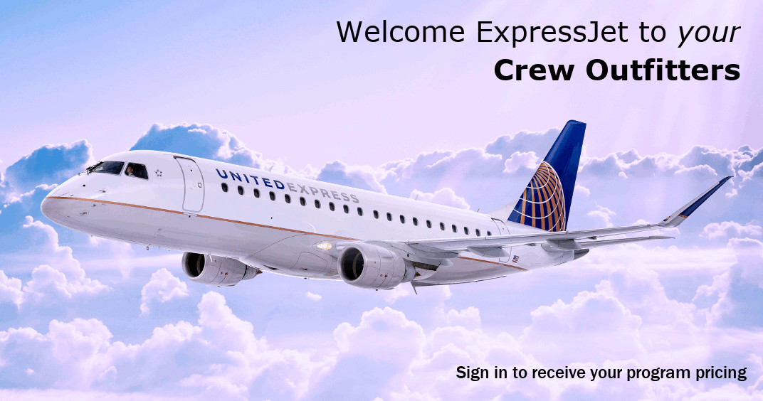 Welcome Expressjet To Crewoutfitters