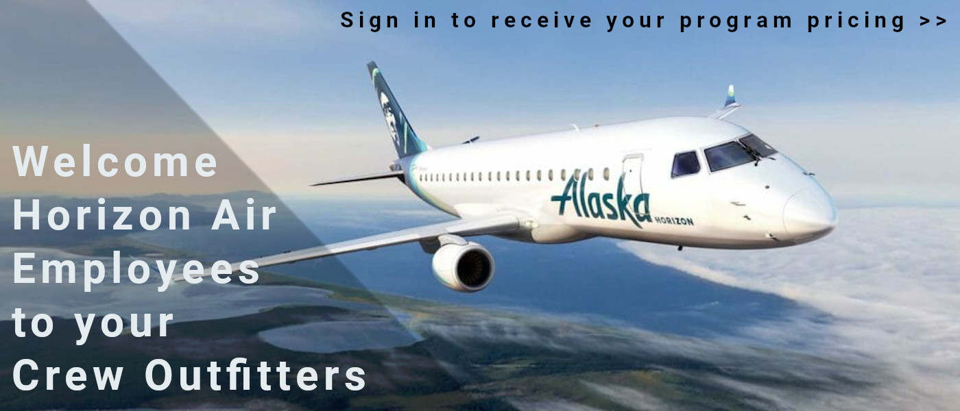 Welcome Horizon Air to CrewOutfitters